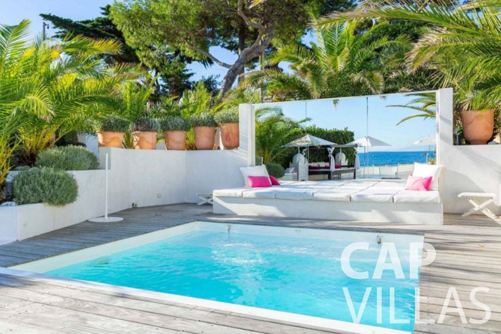 let Villa Garoupe cap antibes garoupe swimming pool