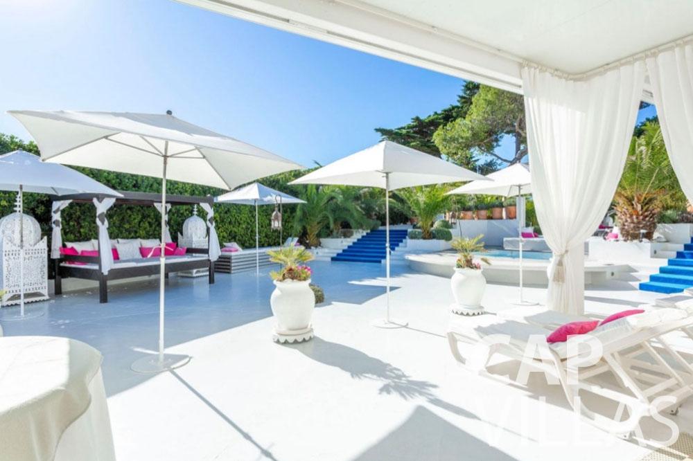 let Villa Garoupe cap antibes garoupe terrace