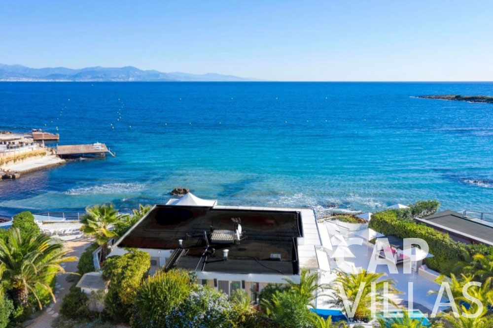 rent Villa Garoupe cap antibes garoupe sea view