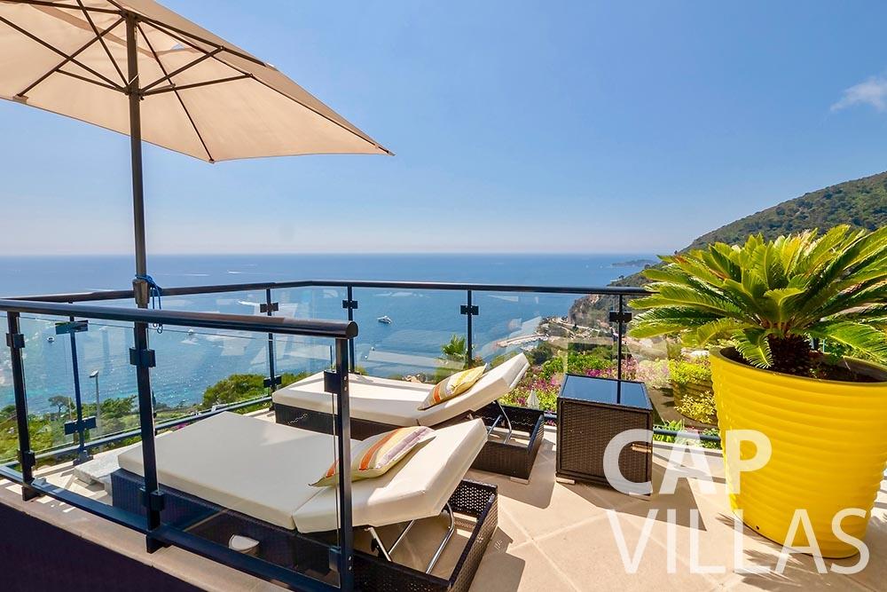 rent Villa Grazioli eze sur mer grazioli balcony
