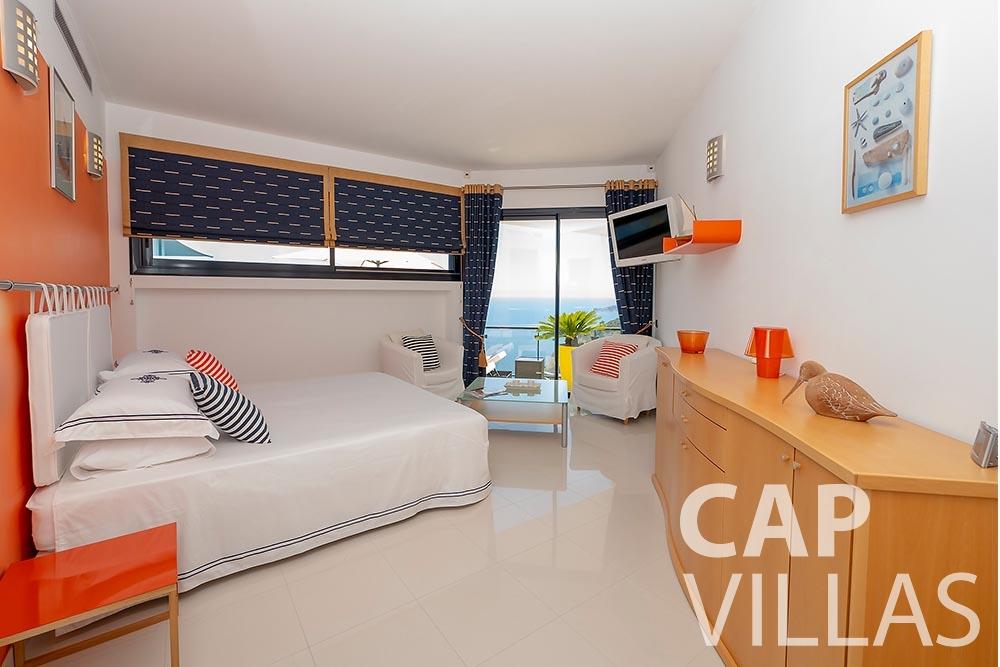 rent Villa Grazioli eze sur mer grazioli bedroom