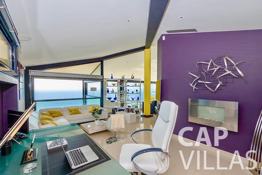 rent Villa Grazioli eze sur mer grazioli home office