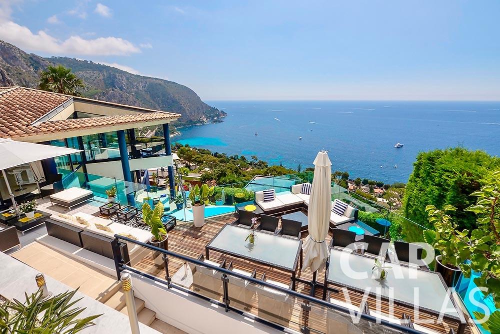 rent Villa Grazioli eze sur mer grazioli sea view