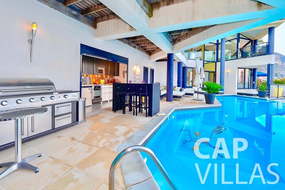 Villa Grazioli for rent eze sur mer grazioli pool