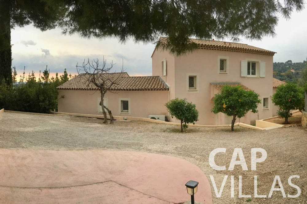 Villa Hortensia for rent roquebrune cap martin hortensia property