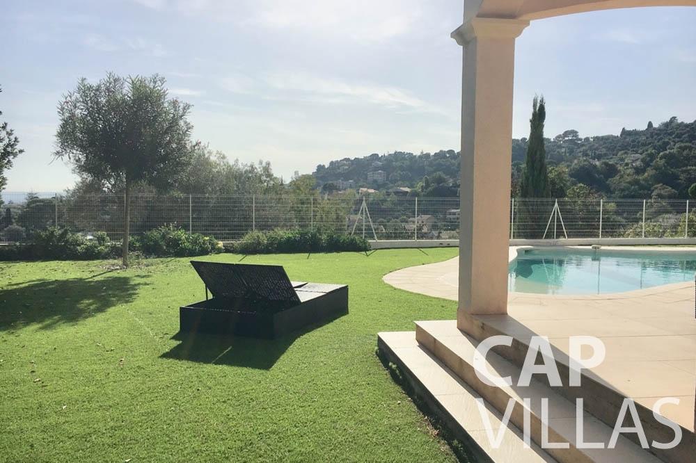 Villa Hortensia for rent roquebrune cap martin hortensia terrace