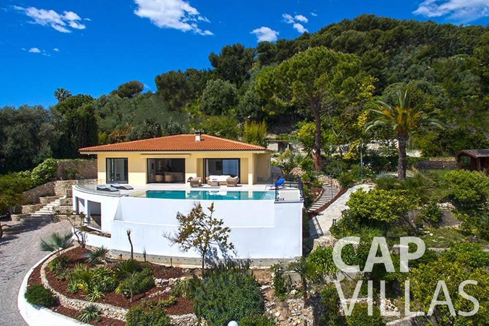 rent Villa Infinity infinity roquebrune cap martin property birdview