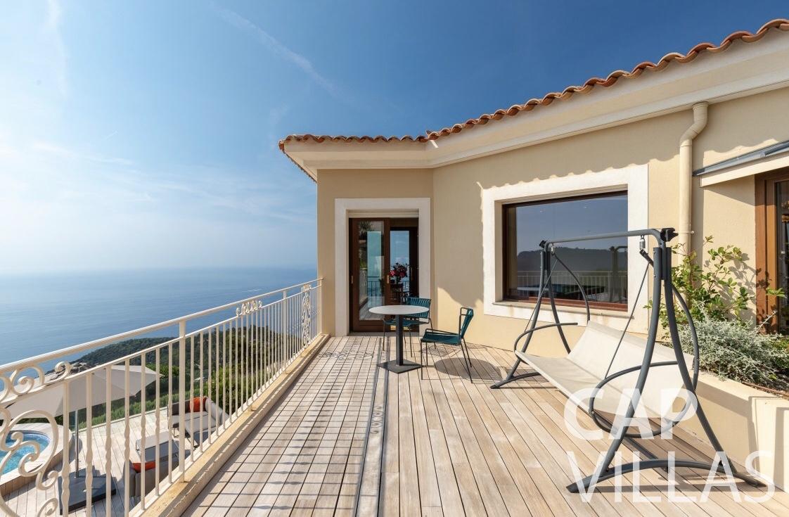 rent Villa Iris eze sur mer iris terrace
