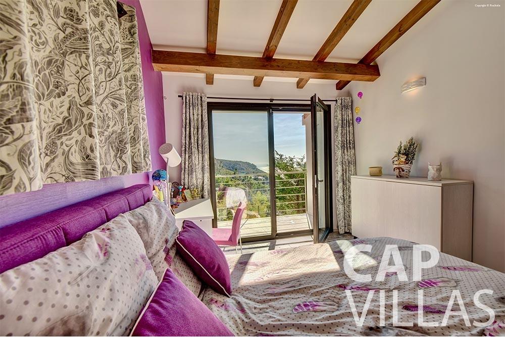 let Villa Turbie la turbie cap dail bedroom
