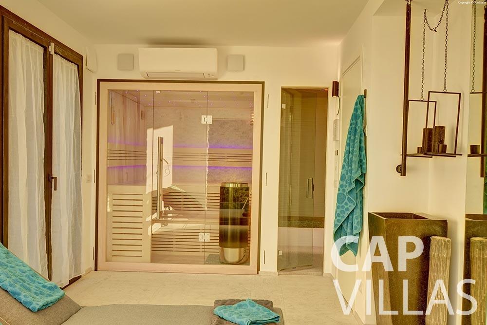 rent Villa Turbie la turbie cap dail sauna