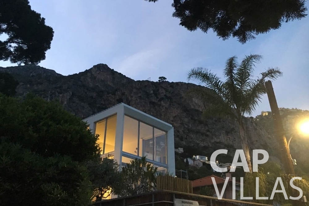 holiday rental eze sur mer laurence property view