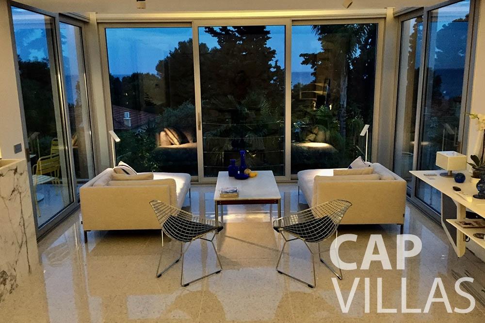 let Villa Eze Sur Mer eze sur mer laurence living area