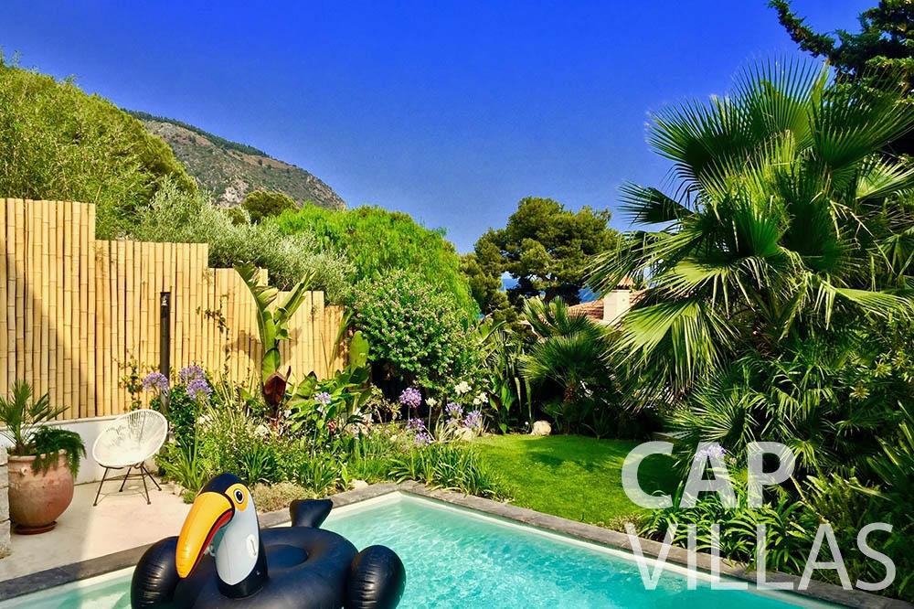 rent Villa Eze Sur Mer eze sur mer laurence swimming pool