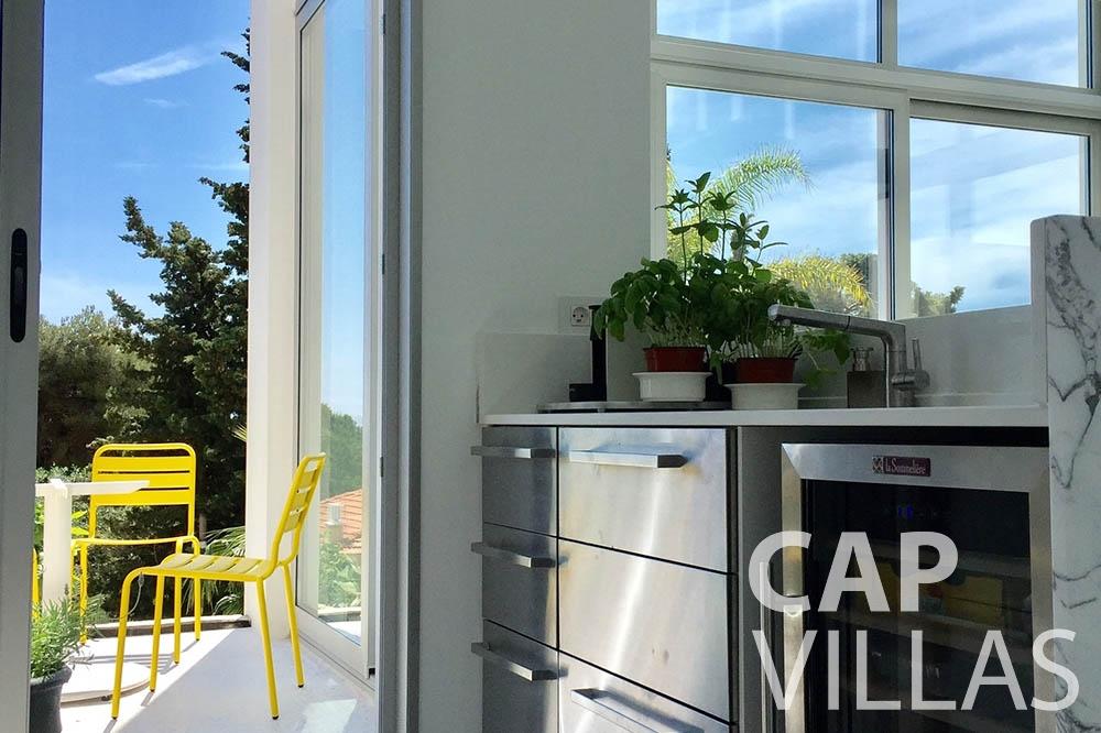 Villa Eze Sur Mer for let eze sur mer laurence kitchen