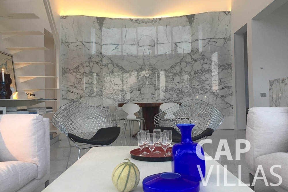 Villa Eze Sur Mer for let eze sur mer laurence living area