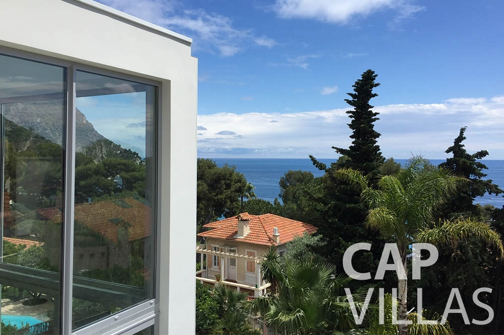 Villa Eze Sur Mer for let eze sur mer laurence terrace sea view