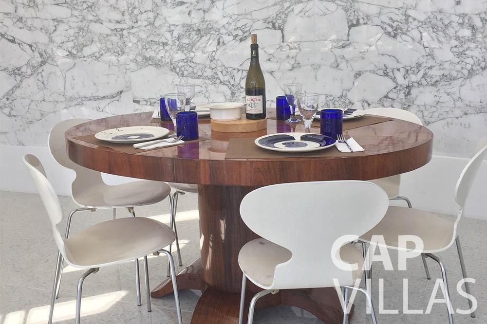 Villa Eze Sur Mer for rent eze sur mer laurence dining table