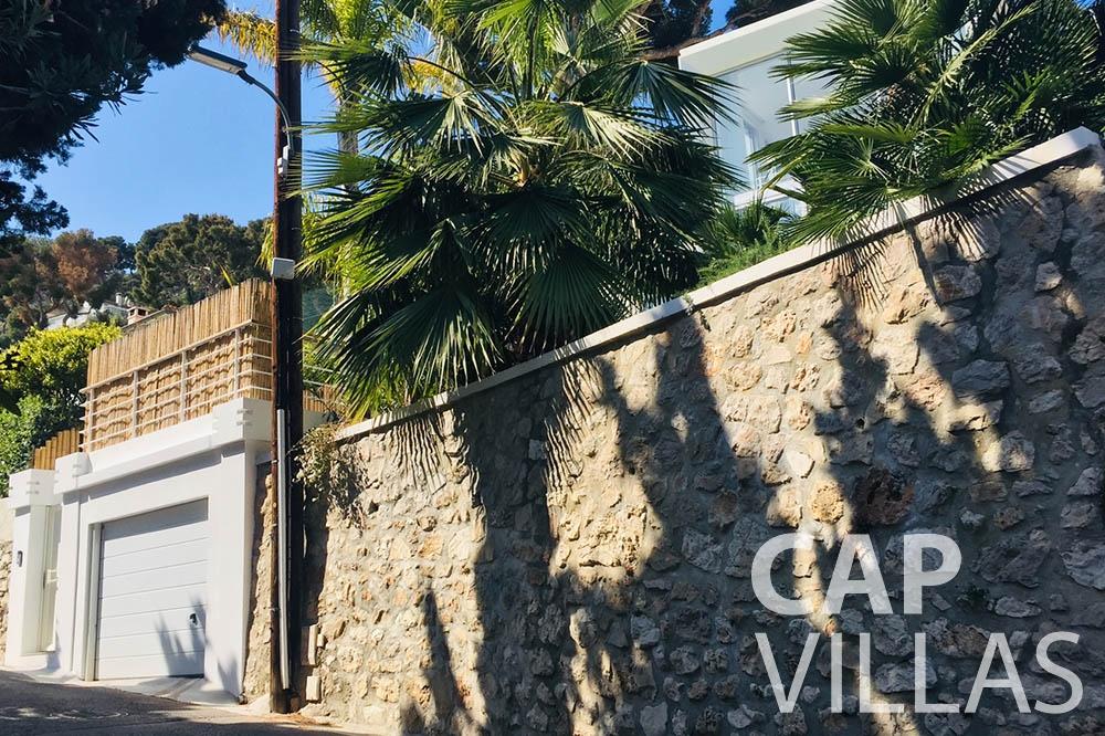 Villa Eze Sur Mer for rent eze sur mer laurence garage area