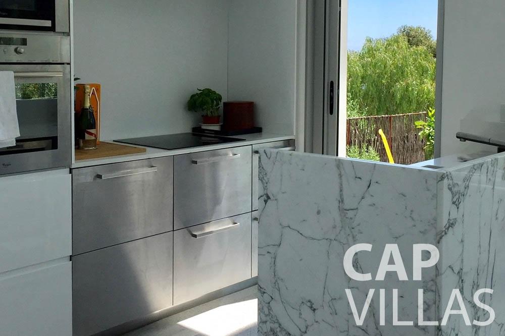 Villa Eze Sur Mer for rent eze sur mer laurence kitchen