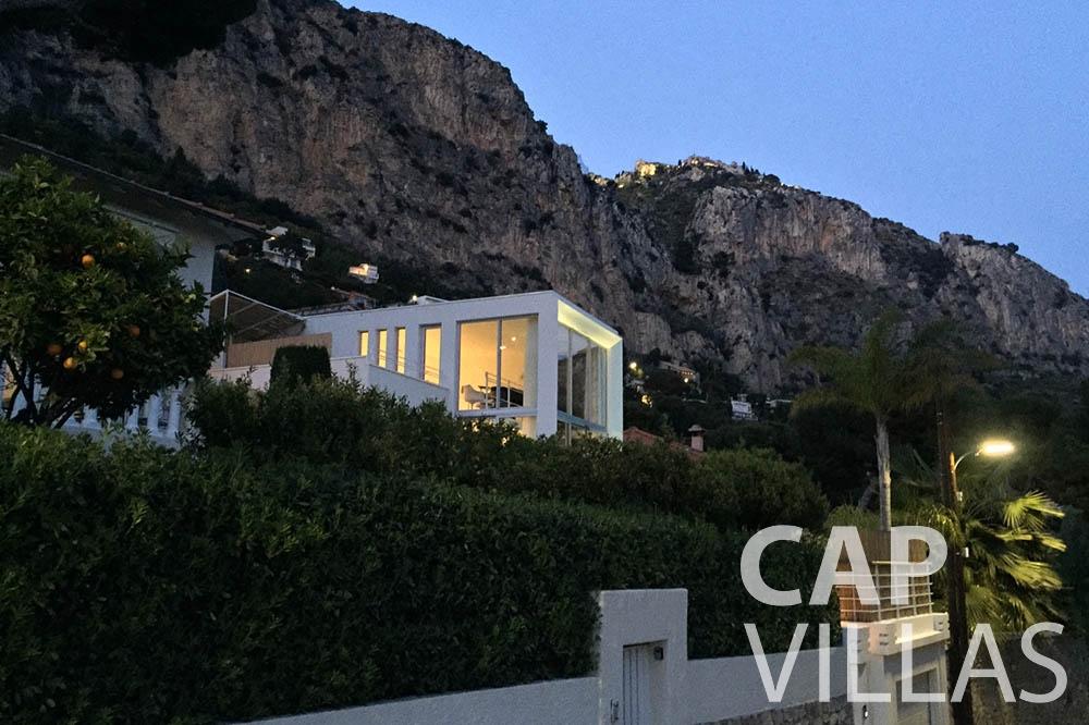 Villa Eze Sur Mer for rent eze sur mer laurence property view