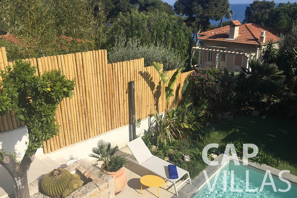 Villa Eze Sur Mer for rent eze sur mer laurence swimming pool view