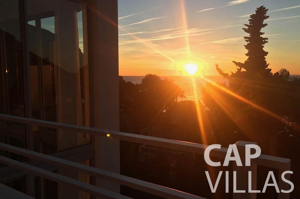 Villa Eze Sur Mer for rent eze sur mer laurence terrace sea view