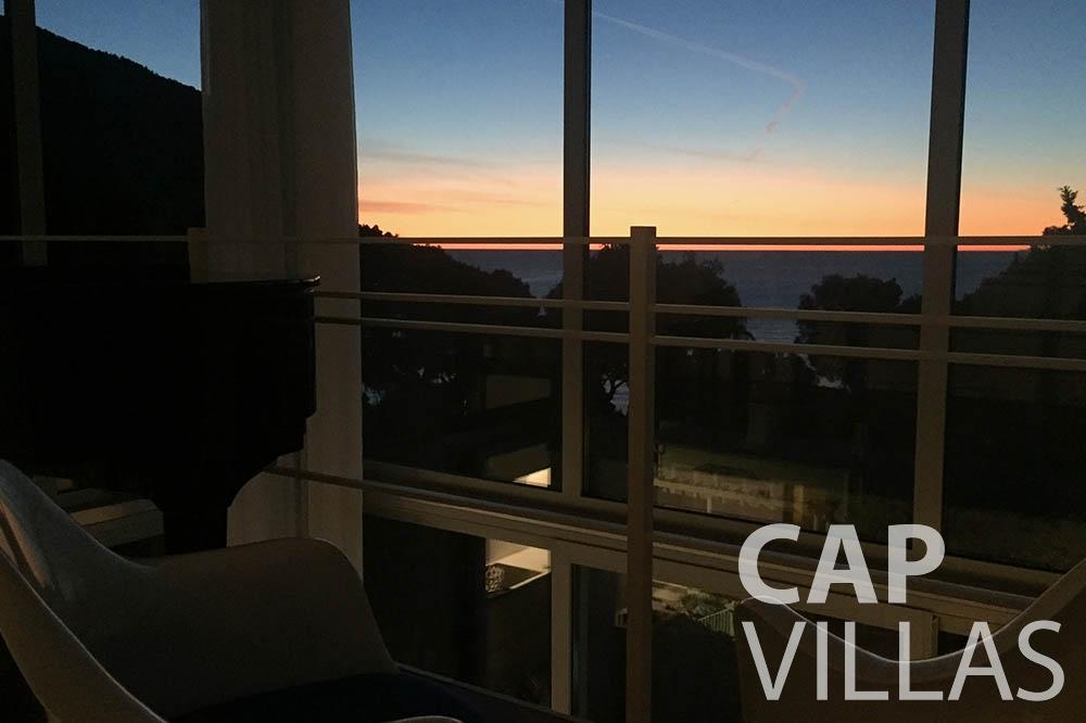 Villa Eze Sur Mer for rent eze sur mer laurence terrace seaview