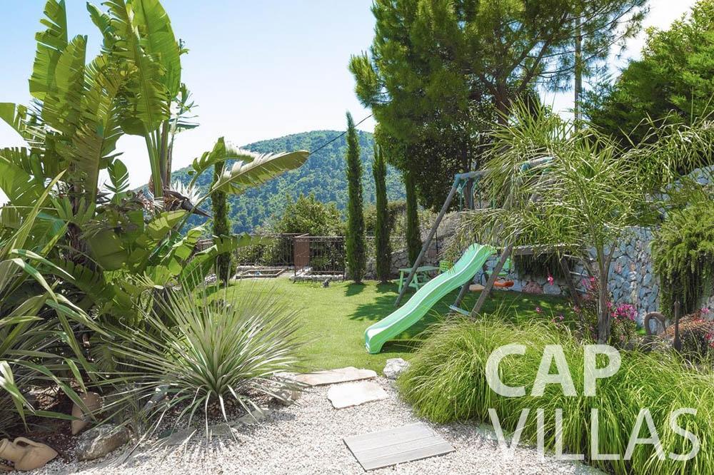 Villa Le Roc for rent eze le roc garden