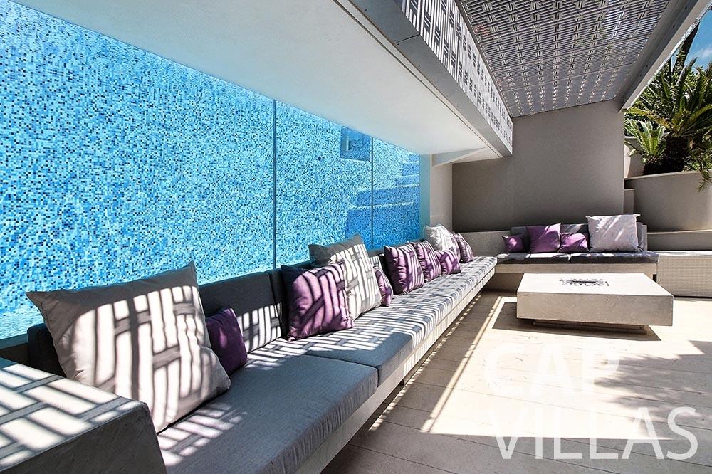 let Villa Magnifique magnifique eze sur mer terrace