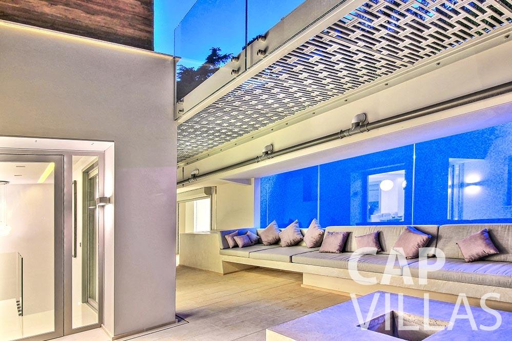 rent Villa Magnifique magnifique eze sur mer covered terrace