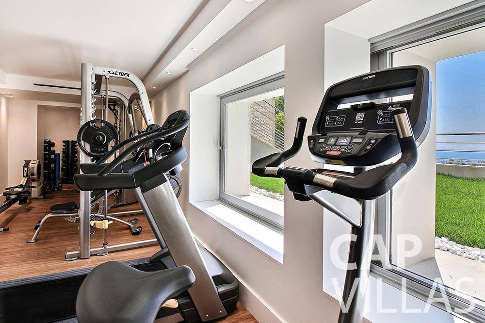 rent Villa Magnifique magnifique eze sur mer gym