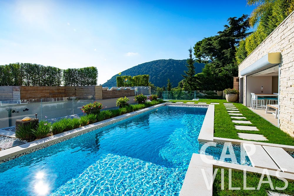rent Villa Magnifique magnifique eze sur mer pool