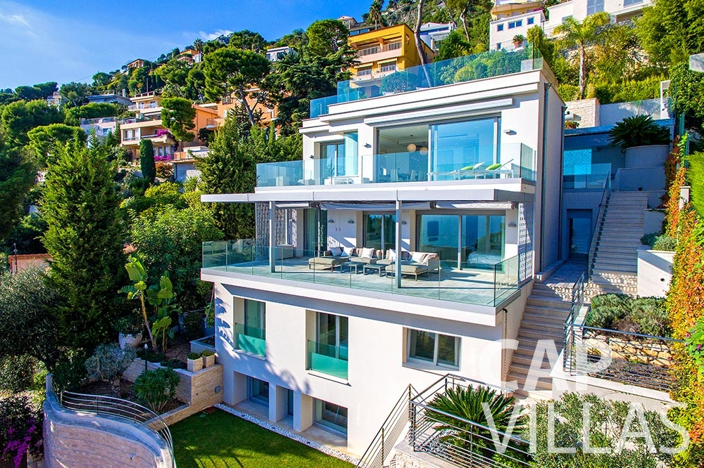 Property for sale Villa Magnifique magnifique eze sur mer property birdview