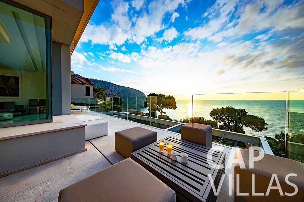 rent Villa Magnifique magnifique eze sur mer seaview