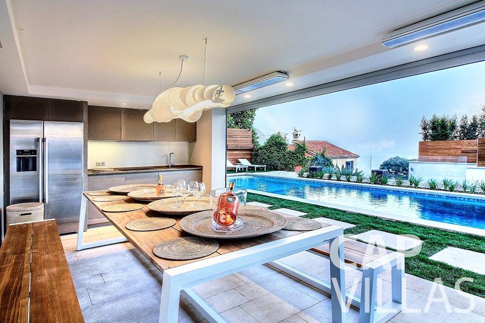 rent Villa Magnifique magnifique eze sur mer terrace pool