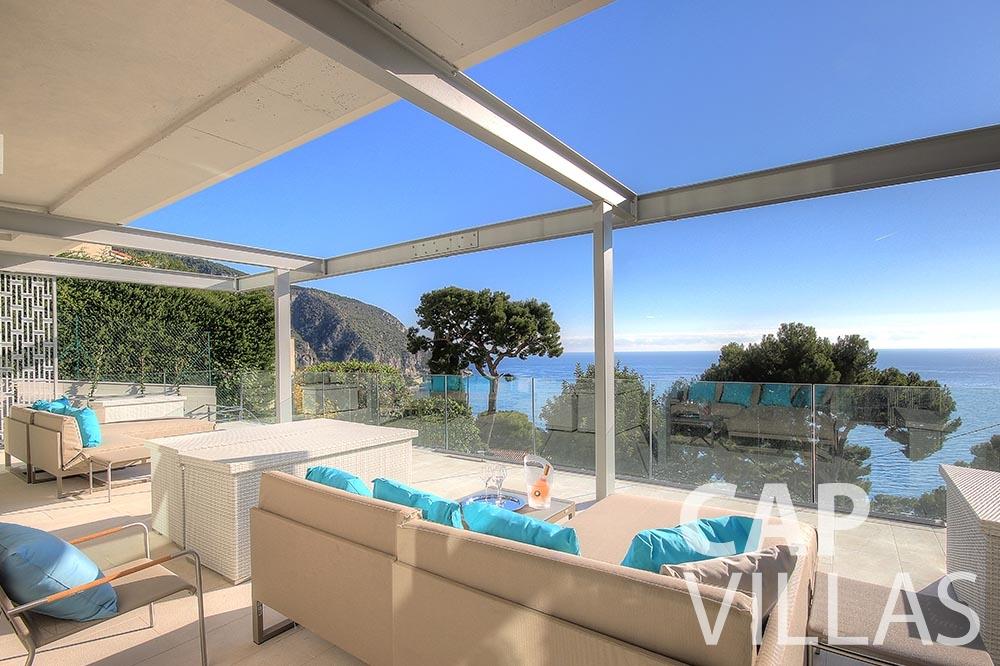 rent Villa Magnifique magnifique eze sur mer terrace sea view