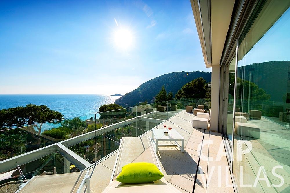 rent Villa Magnifique magnifique eze sur mer terrace seaview
