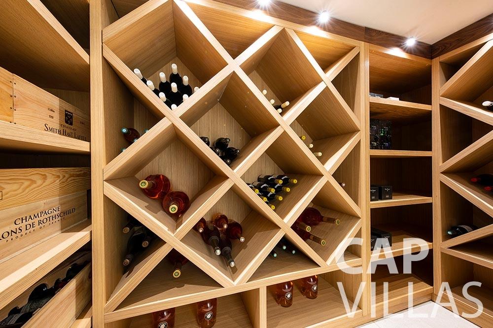 rent Villa Magnifique magnifique eze sur mer wine cellar