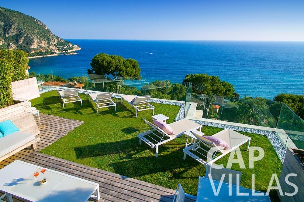 summer Villa Magnifique magnifique eze sur mer terrace sea view