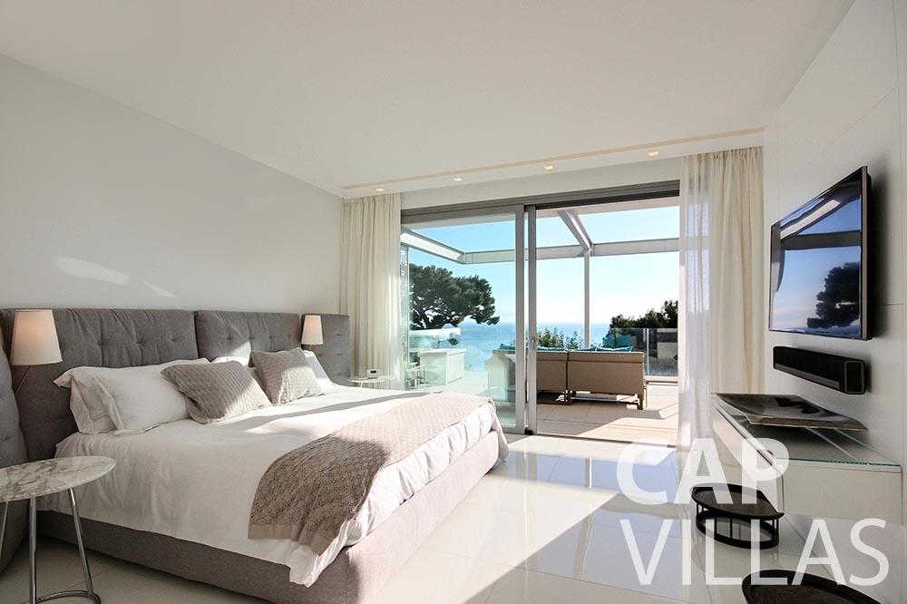 Villa Magnifique for let magnifique eze sur mer bedroom