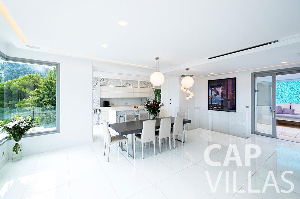 Villa Magnifique for let magnifique eze sur mer living area