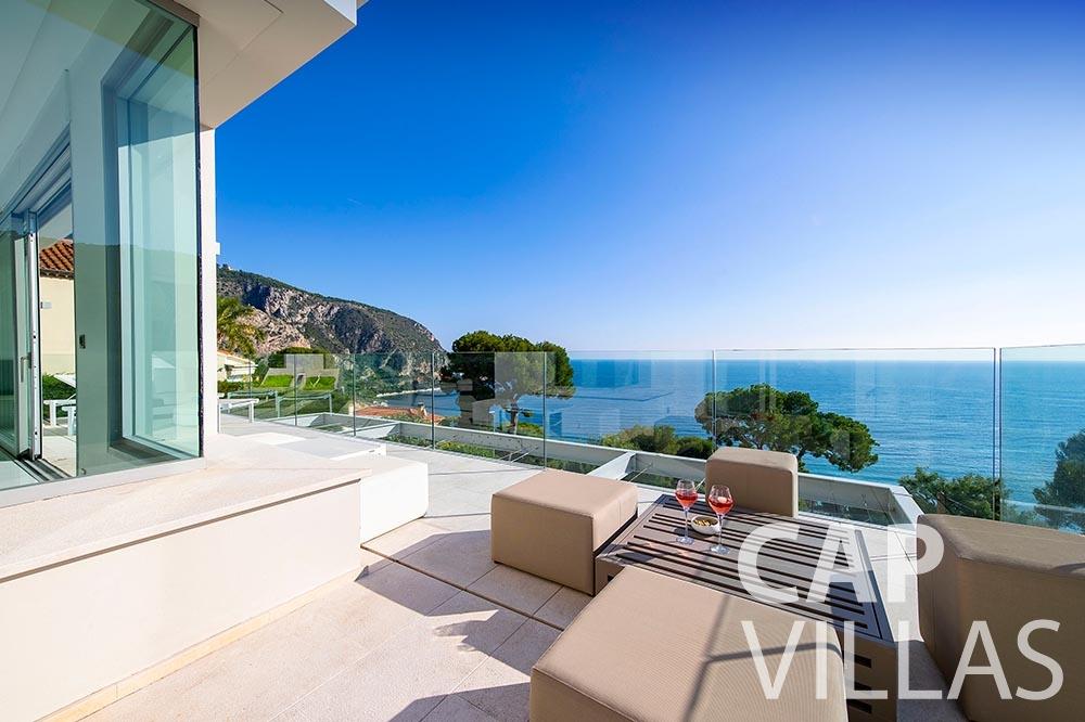 Villa Magnifique for rent magnifique eze sur mer terrace sea view