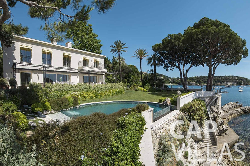 holiday rental cap ferrat mas de la rube property view