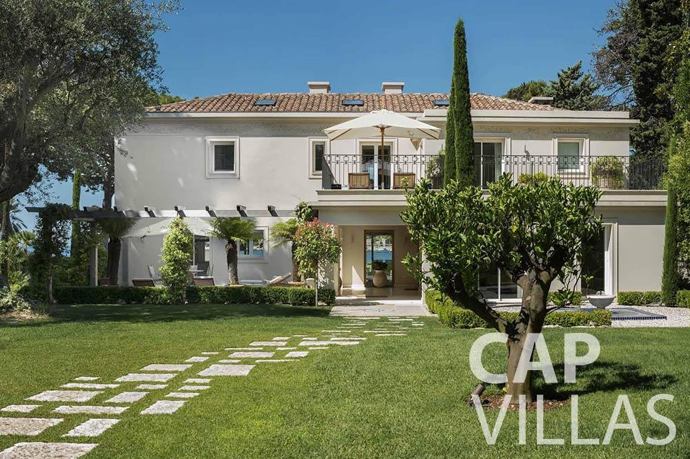rent Villa Mas de La Rube cap ferrat mas de la rube property view