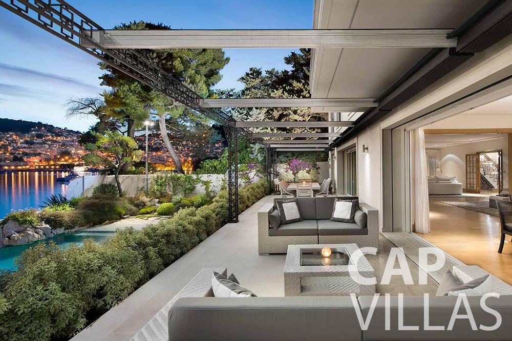 rent Villa Mas de La Rube cap ferrat mas de la rube terrace