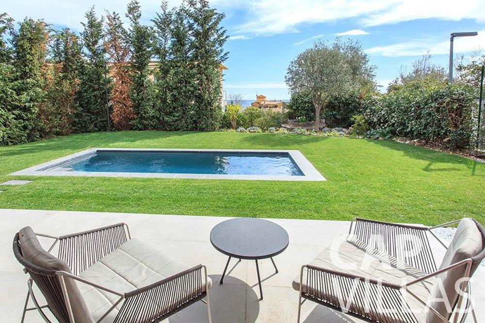 Villa Michelina for rent eze sur mer michelina swimming pool