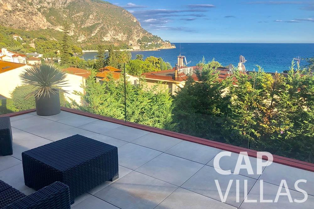 Villa Michelina for rent eze sur mer michelina terrace