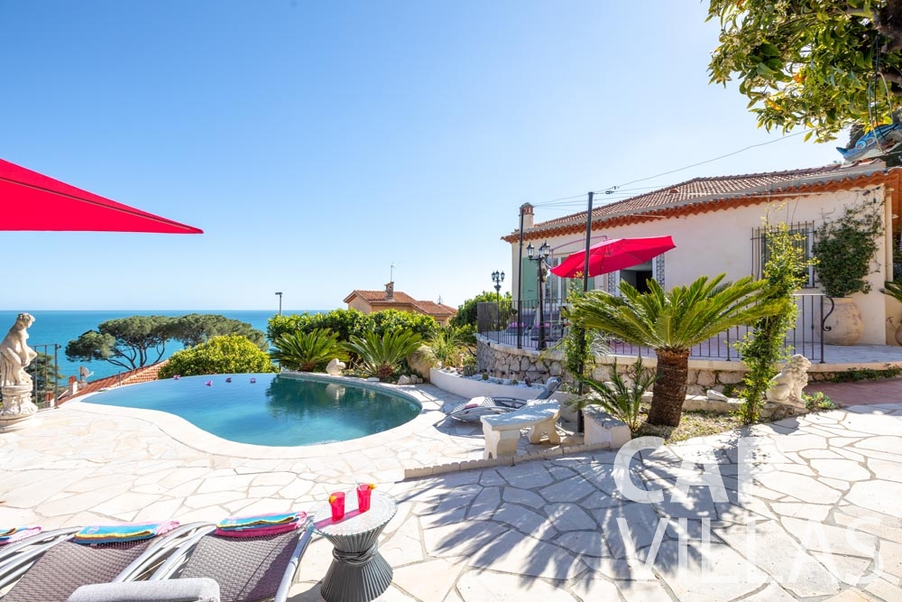 holiday rental eze sur mer panarea terrace