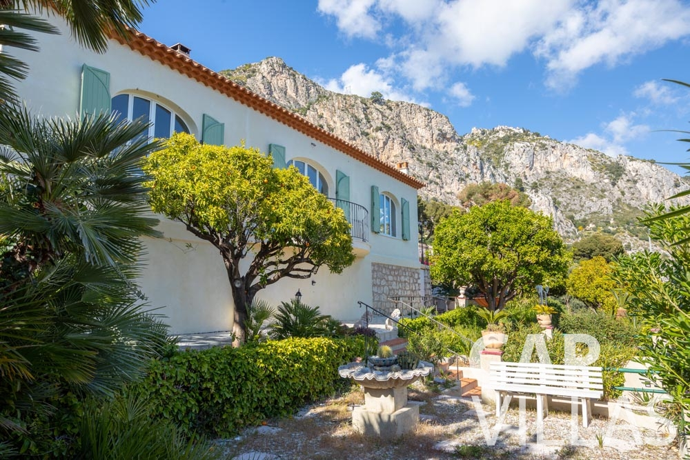 villa for let eze sur mer panarea garden