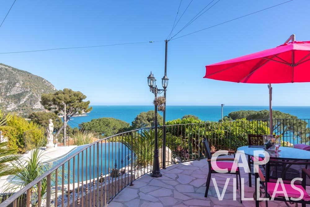 Villa Panarea for let eze sur mer panarea terrace